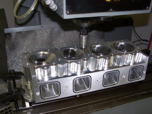 cylinder head chamber digitizing zoom